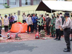 Wakapolri Tinjau Kesiapan PPKM dan Pencegahan Karlahut di Riau
