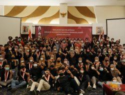 DPC dan DPK GMNI Bangka Belitung Baca Ikrar Prasetya Korps