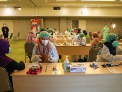 Gerakan Indonesia Pasti Bisa Buka Sentra Vaksinasi di Tebet