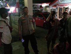 Pelaku Pemalakan dan Pelemparan Mobil Angkutan Digelandang ke Polsek Warungkondang